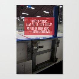 Hockey Passion Canvas Print