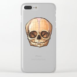 Baby Skull Clear iPhone Case
