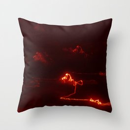 The army of light Throw Pillow