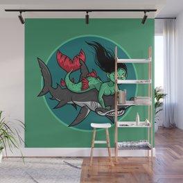 Mermaid Mayhem Wall Mural