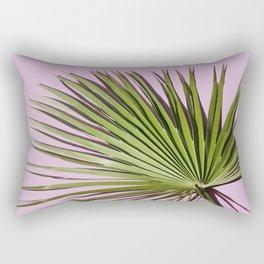Palm on Lavender Rectangular Pillow