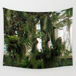Green Haze Wall Tapestry