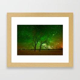 Nature spectacle Framed Art Print