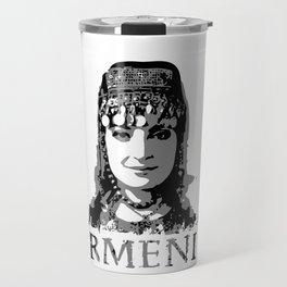 Armenia. Armenian girl Travel Mug
