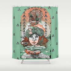 As Predicted Shower Curtain