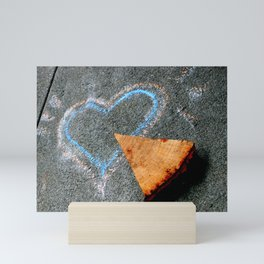 Take Another Little Pizza My Heart Mini Art Print