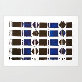 Modern Mudcloth Art Print