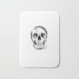 Pirate Skull Bath Mat