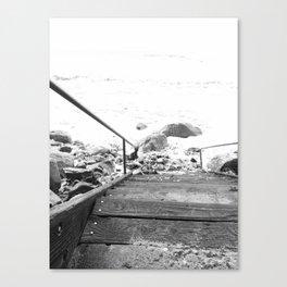 Winter High Tide Canvas Print