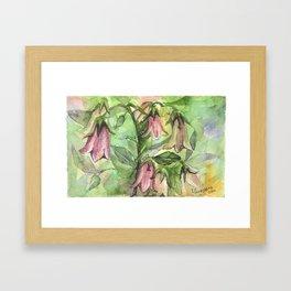 Harebell Framed Art Print