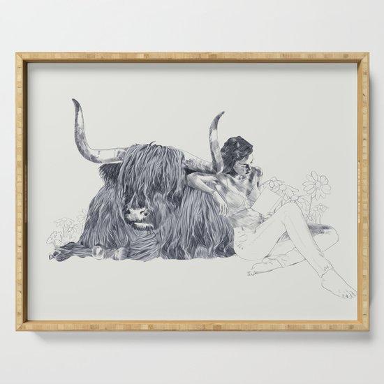 A Wandering Bull (Taurus) by jennylizrome