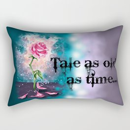 The Magical Rose Rectangular Pillow