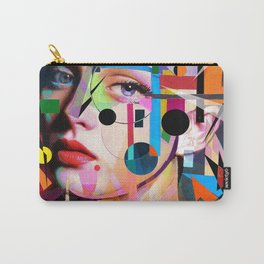SHE LOVES COLORS Carry-All Pouch