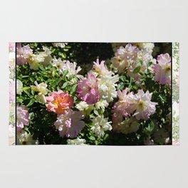 ROSA BONICA ROSE FLOWERS Rug