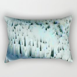 White Landscape / Snow Rectangular Pillow
