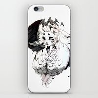 lamb iPhone & iPod Skins featuring Lamb by Samuel Youn