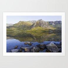 Lake Idwal Art Print