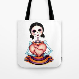 Dia de los Muertos: Stitch by Stitch Tote Bag