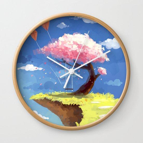 Secret Place Wall Clock