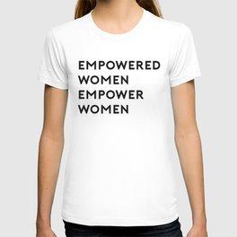 EMPOWERED WOMEN EMPOWER WOMEN T-shirt