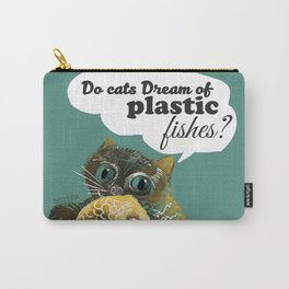 Do cats dream... (c) 2017 Carry-All Pouch