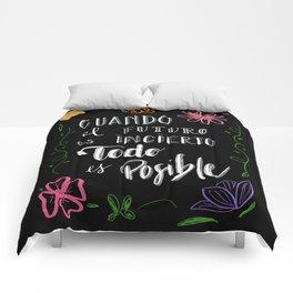 FUTURO POSIBLE Comforters