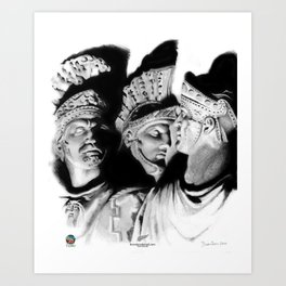 The Romans Art Print
