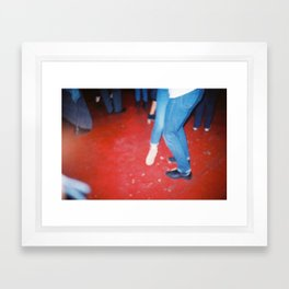 PUT ON YOUR DANCING SHOES Framed Art Print
