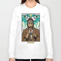 tenenbaums Long Sleeve T-shirts featuring Richie Tenenbaum (Royal Tenenbaums) Movie Poster Print  by Nick Howland