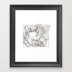 birds/Silence Framed Art Print