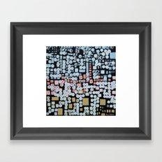 :: White Noise :: Framed Art Print