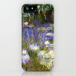 Water Lilies,1922 - Claude Monet iPhone Case