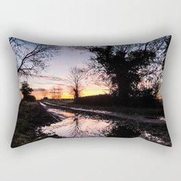 Dawn on the Lane Rectangular Pillow