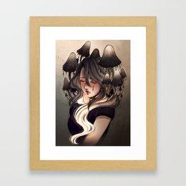 Inky cap Framed Art Print