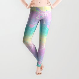 Beads and Stickers Leggings