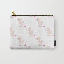 Pink Poodle Poop Carry-All Pouch