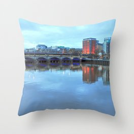 Jamaica Bridge Throw Pillow