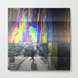 "Thursday 14 March 2013: ""...prism is only walls..."" Metal Print"