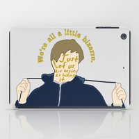 the breakfast club iPad Cases featuring The Breakfast Club - Andrew by Swell Dame