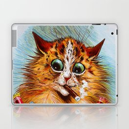 "Louis Wain's Cats ""Tom Smith's Crackers"" Laptop & iPad Skin"