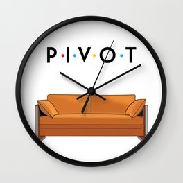 Pivot Friends Wall Clock