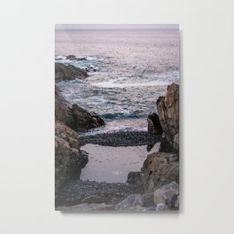 Edge of the Water Metal Print
