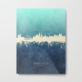 Newcastle England Skyline Metal Print