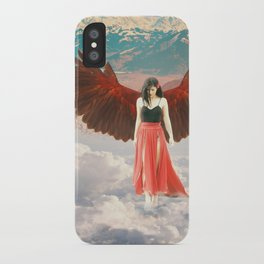 Lady of the Clouds iPhone Case