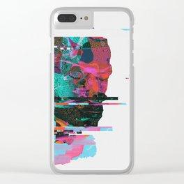 PORTRAIT_0003.SVG Clear iPhone Case