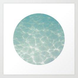 Under Water 5 Art Print