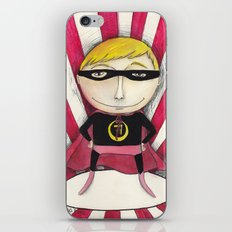 Superhero iPhone & iPod Skin