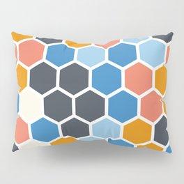 Texture hexagons - SummerColors Pillow Sham