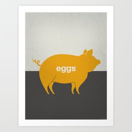 Eggs/Bacon Art Print
