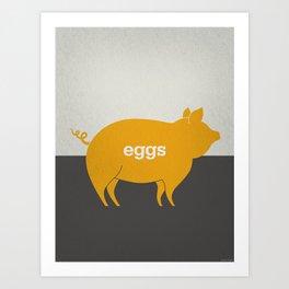 Eggs/Bacon Art Print
